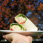 roast chicken wrap