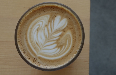flat white coffee latteart vancouver